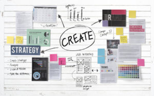 58742224 - create design strategy vision concept